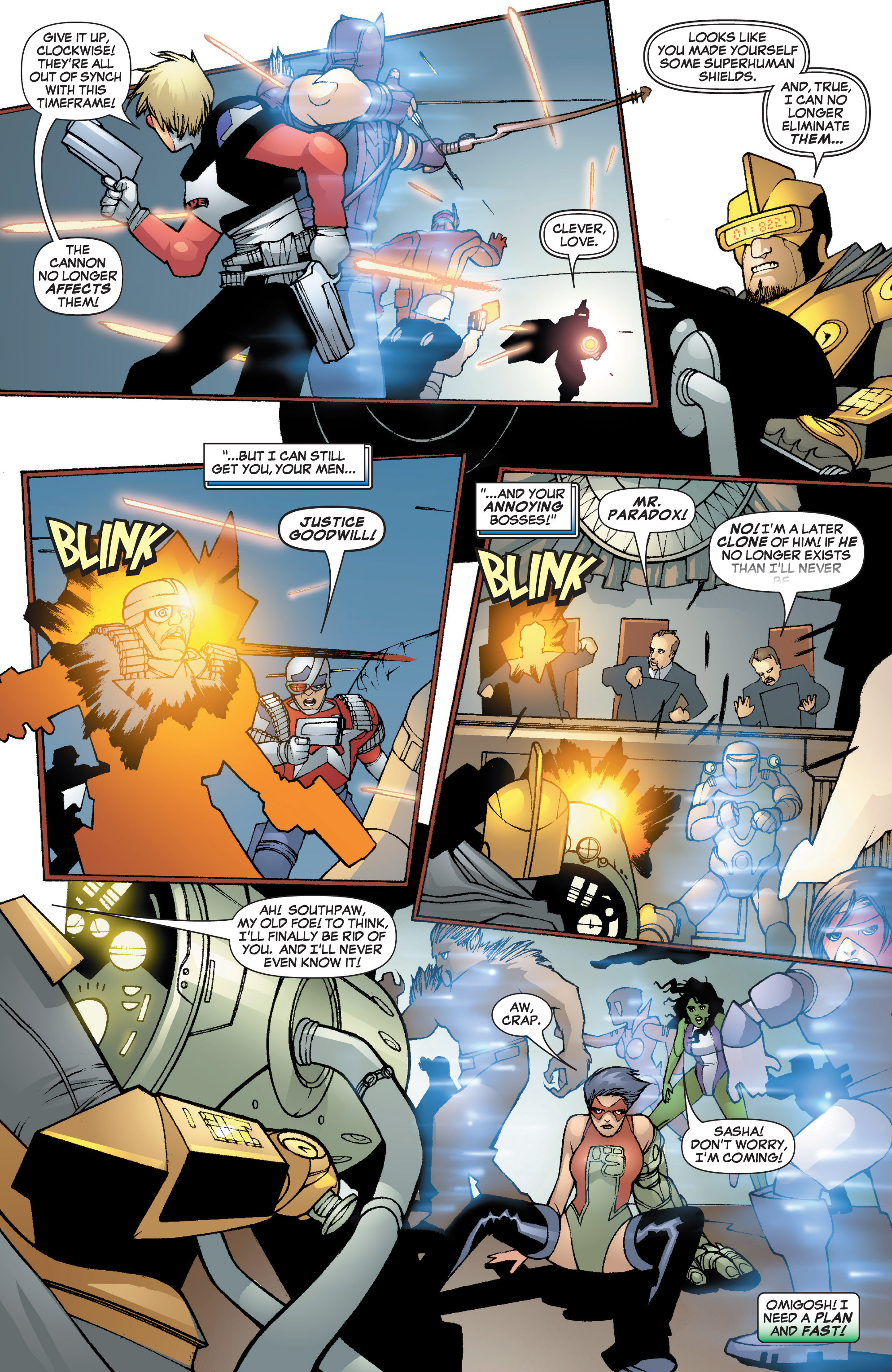 Read online She-Hulk (2005) comic -  Issue #3 - 31