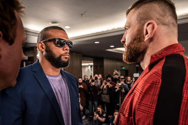 UFC Prague : Jan Blachowicz vs. Thiago Santos Faceoff
