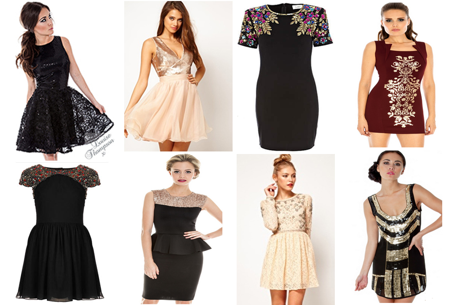 Shopping For Christmas And New Years Eve Party Dresses