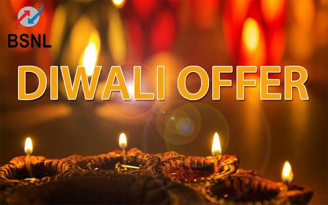 BSNL's Diwali 2017 Laxmi Offer ; BSNL Diwali Offer