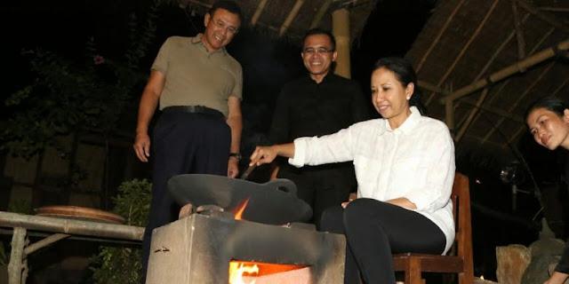Rini Soemarno Menteri BUMN di Banyuwangi
