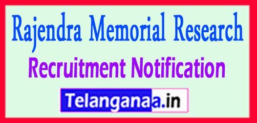 Rajendra Memorial Research Institute of Medical Sciences RMRIMS Recruitment Notification 2017
