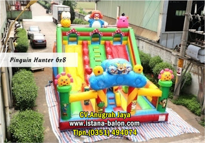 Istana Balon Pingun Hunter 6x8