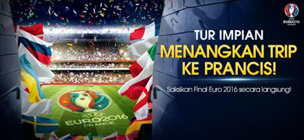 Dapatkan Tiket Nonton UEFA EURO 2016 di Paris