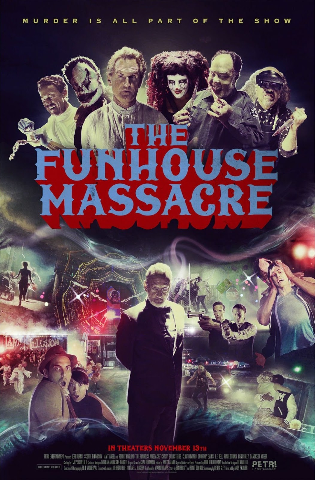 The Funhouse Massacre - HD 720p - Legendado