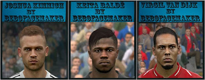 PES 2017 Facepack vol 16 by Bebo Facemaker