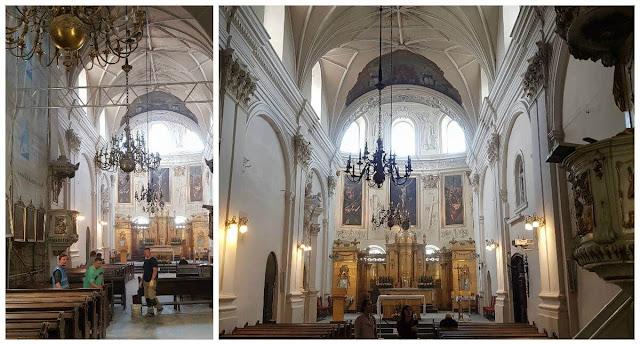 Iglesia de la Asunción de Nuestra Señora de la Victoria interior nave