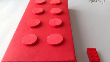 Cómo hacer un empaquetado inspirado en una pieza Lego