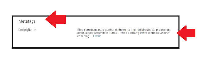 seo para blogspot metatags