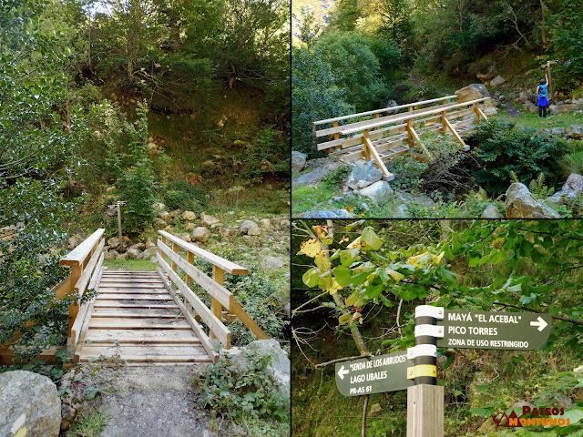 Desfiladero de Los Arrudos: Puente Acebal