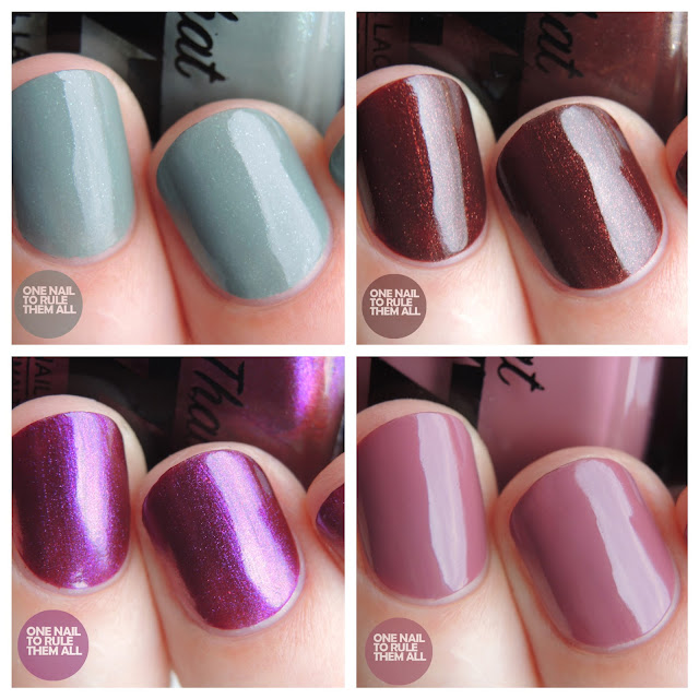 All That Jazz - Homecoming Collection Review + Swatches | One Nail ...