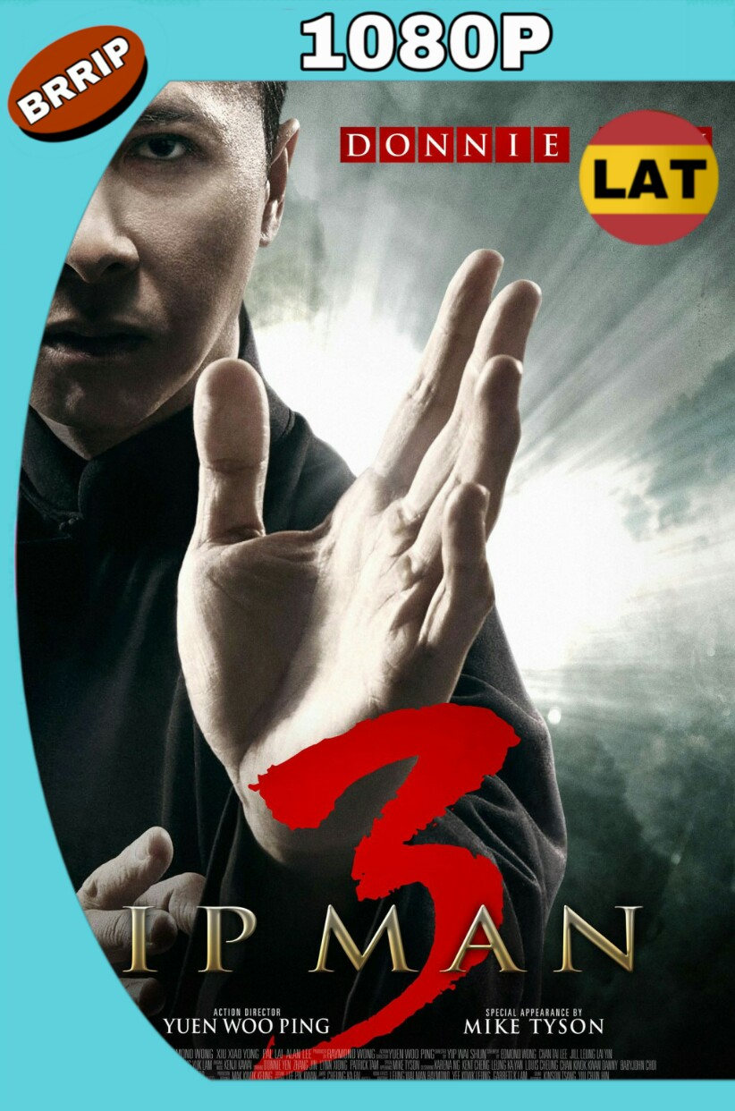 IP MAN 3 (2015) BRRIP LATINO-CHINO MKV
