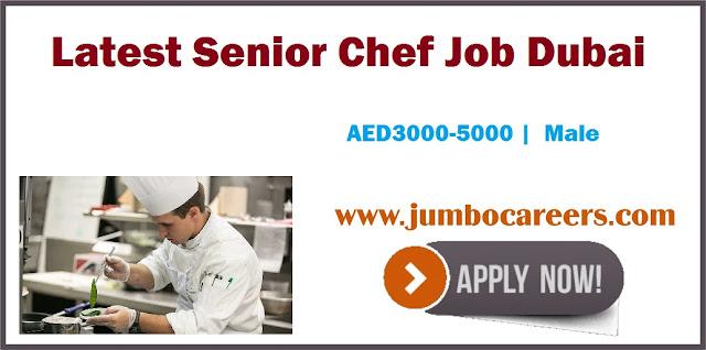 Senior Chef Job Dubai