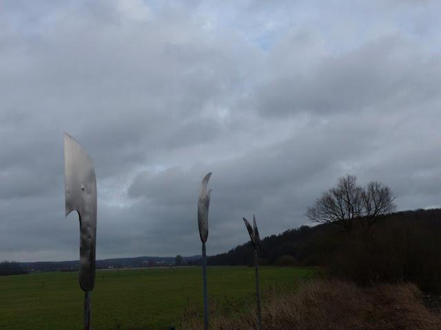 Hunderunde Wanderung Schwerte Ruhr Januar Winter Gesellschaftskater Rundweg Depression 7 Zeichen an der Ruhr