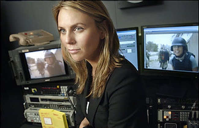 Lara Logan, una guapa periodista de la CBS fue violada en