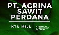 Lowongan Kerja PT. Agrina Sawit Perdana