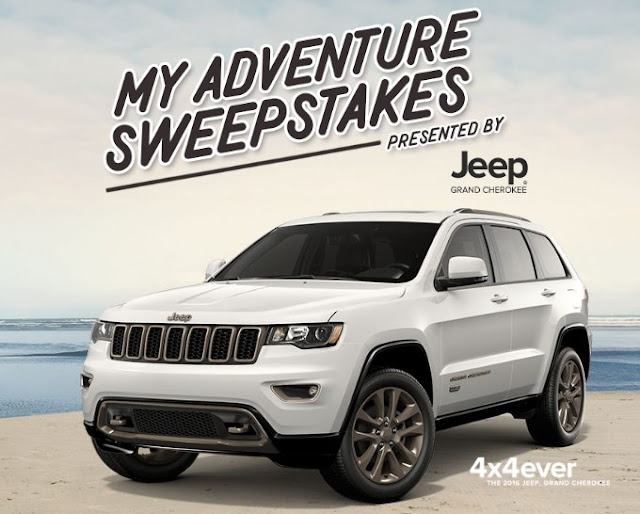 Jeep Grand Cherokee is presenting you with the chance to plan your ultimate summer getaway and enter to win $20,000 CASH to make those dreams a reality!