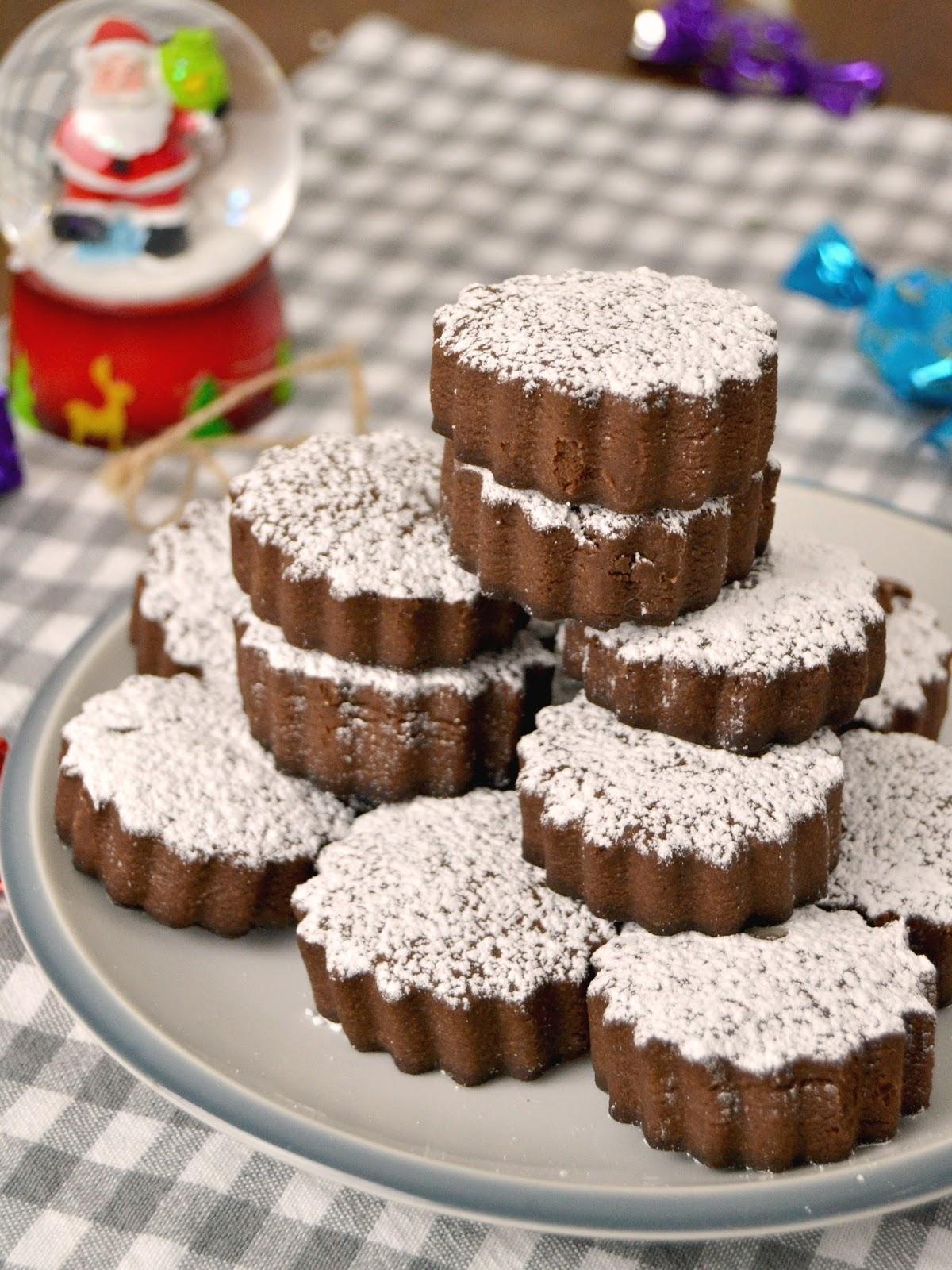 Mantecados de chocolate | Cuuking! Recetas de cocina