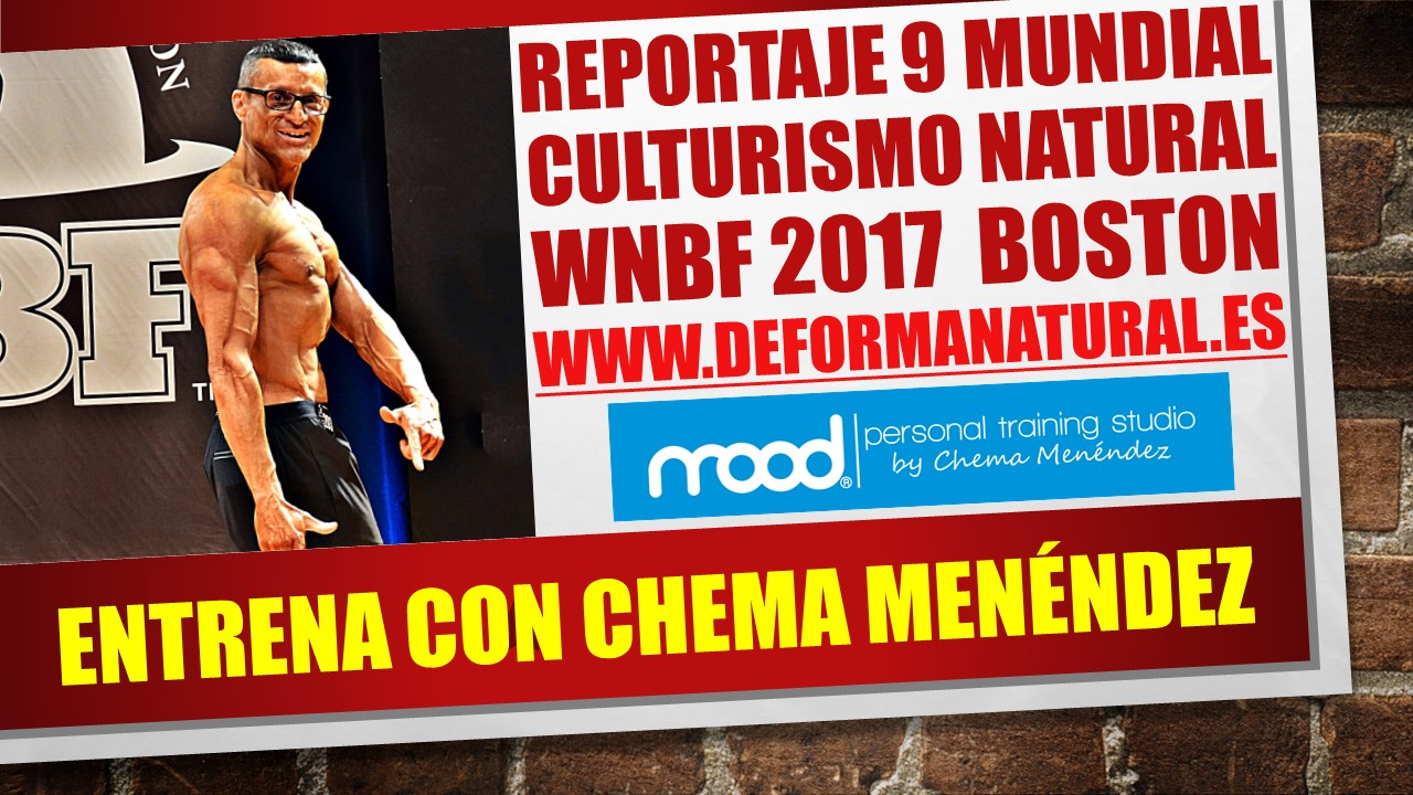 Mundial Culturismo Natural WNBF 2017 Boston IX