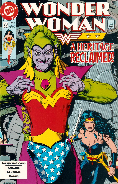 Read online Wonder Woman (1987) comic -  Issue #70 - 1
