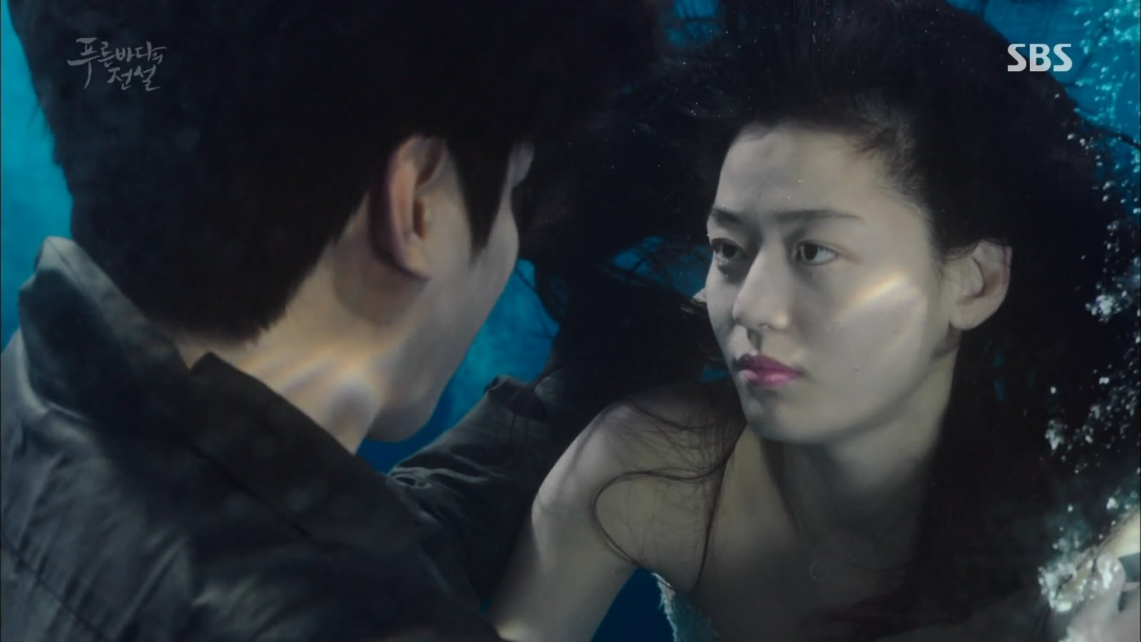 Screenshot Joon Jea And Cheong Yi Kissing The Legend Of The Blu Sea (2016)  1080p Episode 02 - www.uchiha-uzuma.com