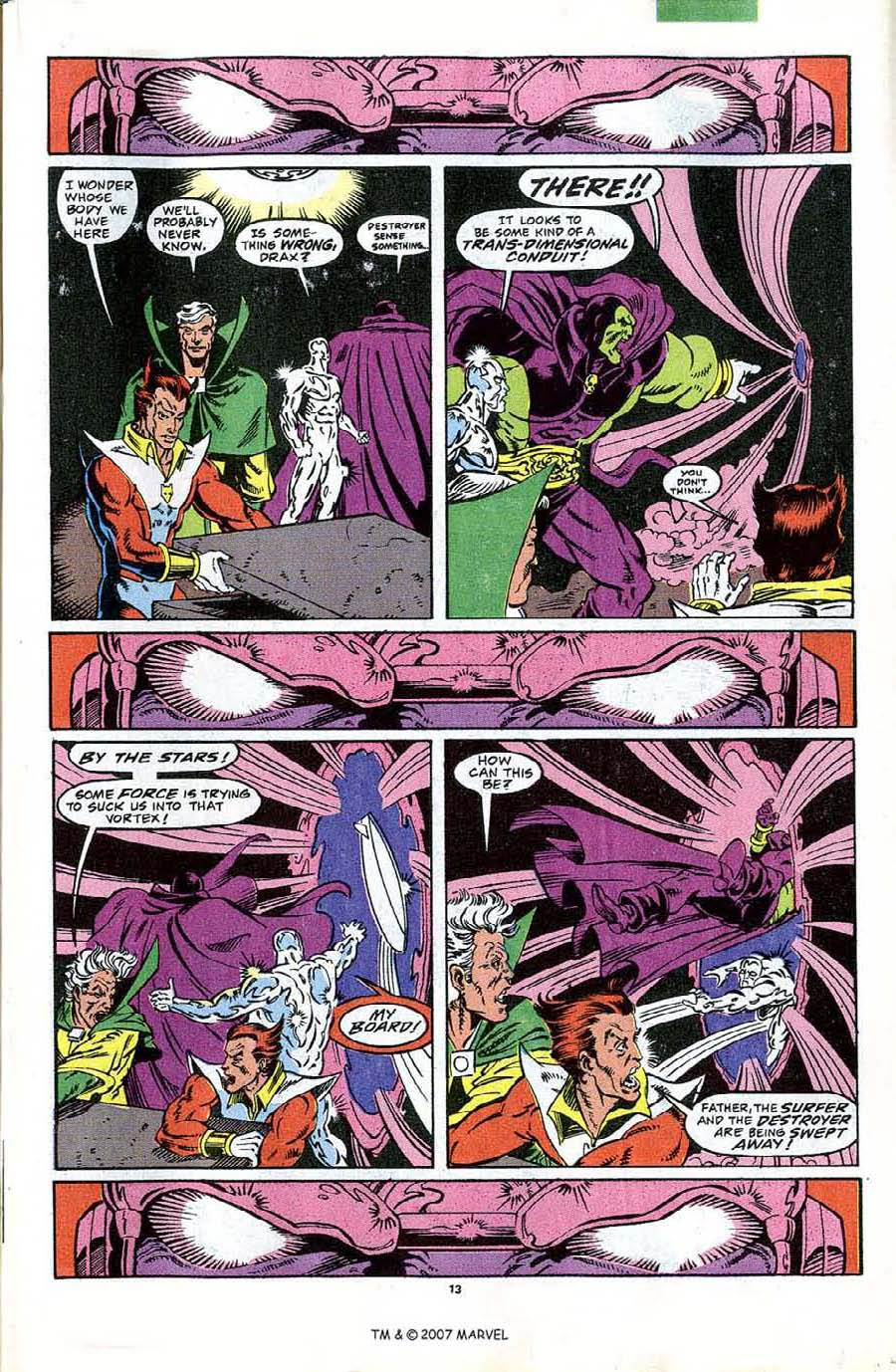 Read online Silver Surfer (1987) comic -  Issue #44 - 15