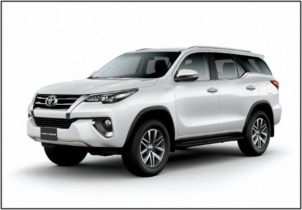 Toyota Fortuner GXR