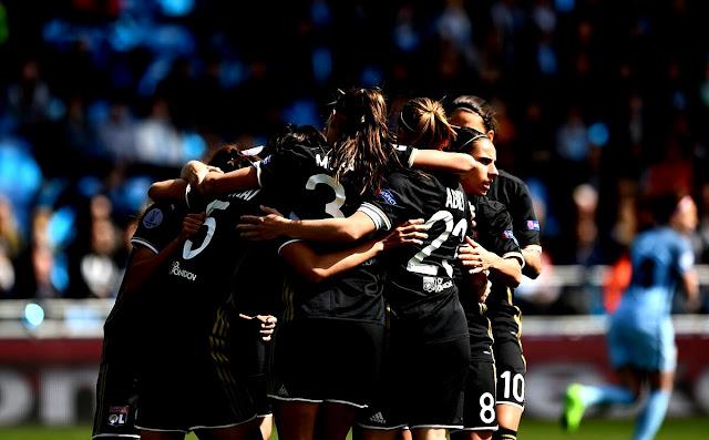 PSG e Lyon largam na frente nas semifinais da Womens Champions League 2016/17