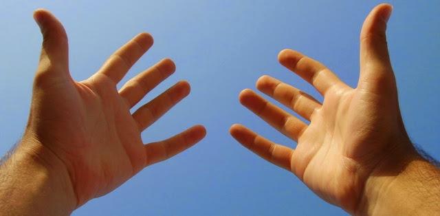 Manos y tejido epitelial