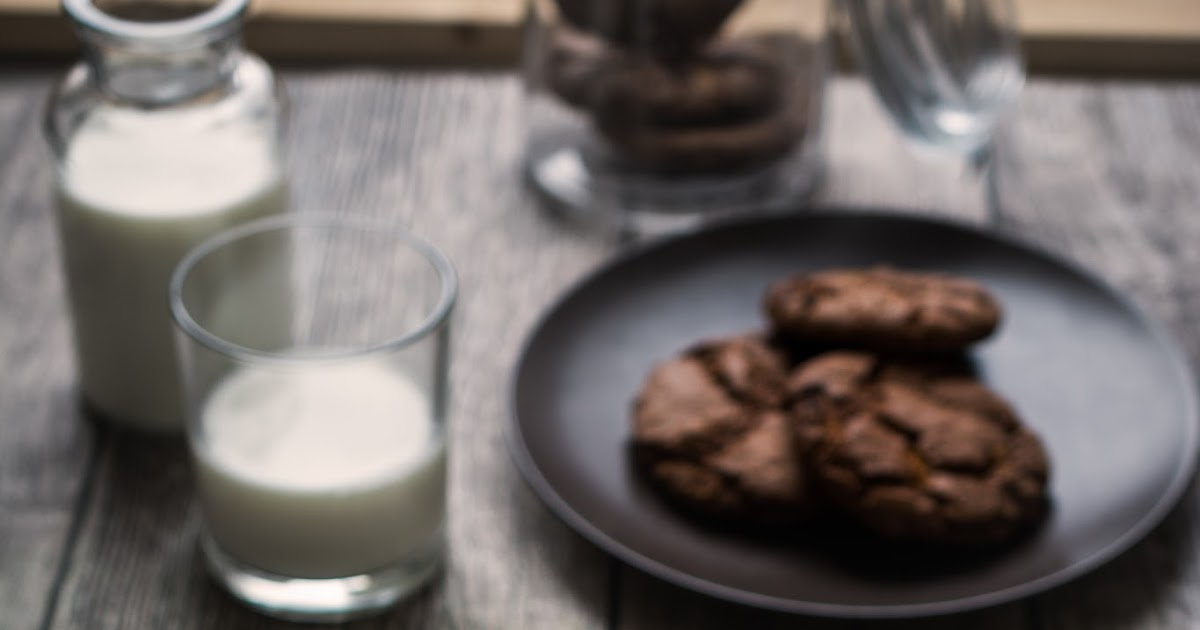 Schokoladige Chocolate-Chip-Cookies / Double Chocolate-Chip-Cookies