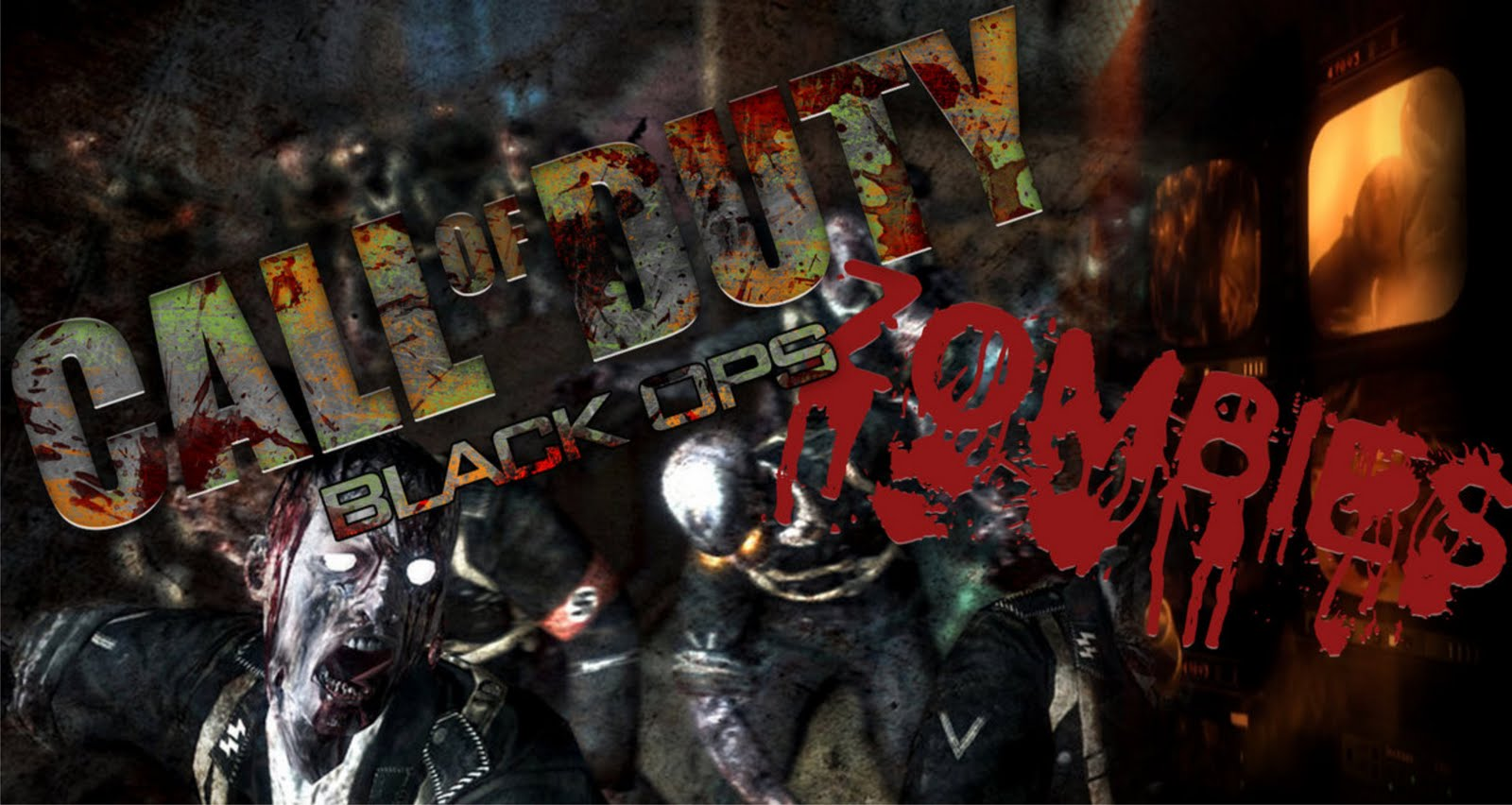 fond d'ecran anime black ops 2