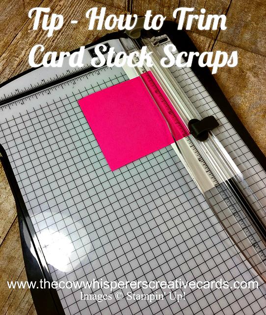 Tip, Cardstock, Trim, Scraps