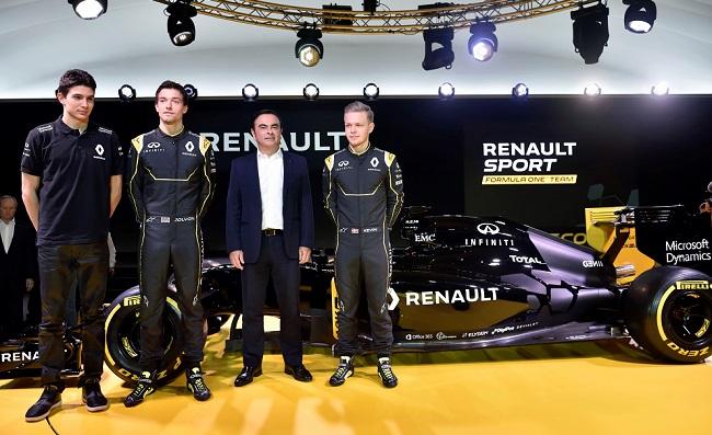 Infiniti Renault F1