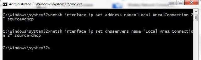 Tutorial Cara Konfigurasi IP Address via CMD di Windows