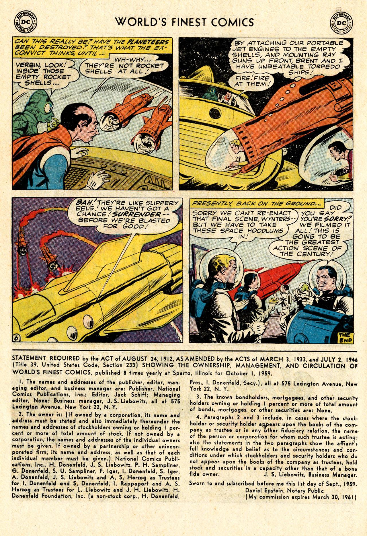 Read online World's Finest Comics comic -  Issue #107 - 24