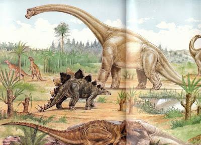 Seperti Inilah Berbagai Zaman Pada Era Dinasaurus
