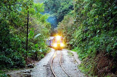 ruta Hidroeléctrica Machu Picchu, Aguas Calientes Hidroelectrica