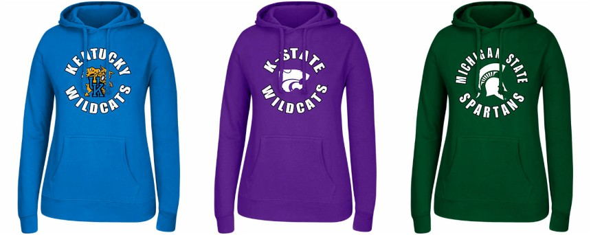 Finish Line: Collegiate Hoodies only $15 (reg $40) + Free Shipping!