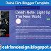 Delok Film Blogger Template