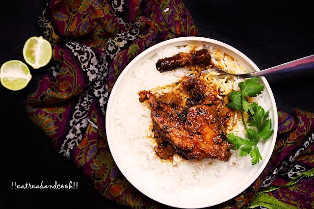 bengali style bengali fish recipe Doi Methi Maach recipe / Fish in a creamy yogurt and fenugreek leaves recipe