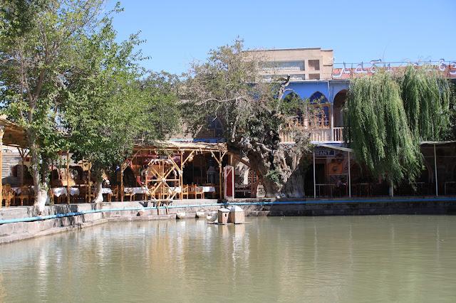 Ouzbékistan, Boukhara, Lyab-i Hauz, © L. Gigout, 2010