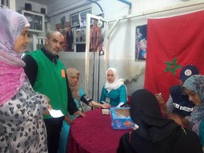 """جمعية """" العالم الرياضي """" تنظم حملة طبية لسكان الحي الحسني"""