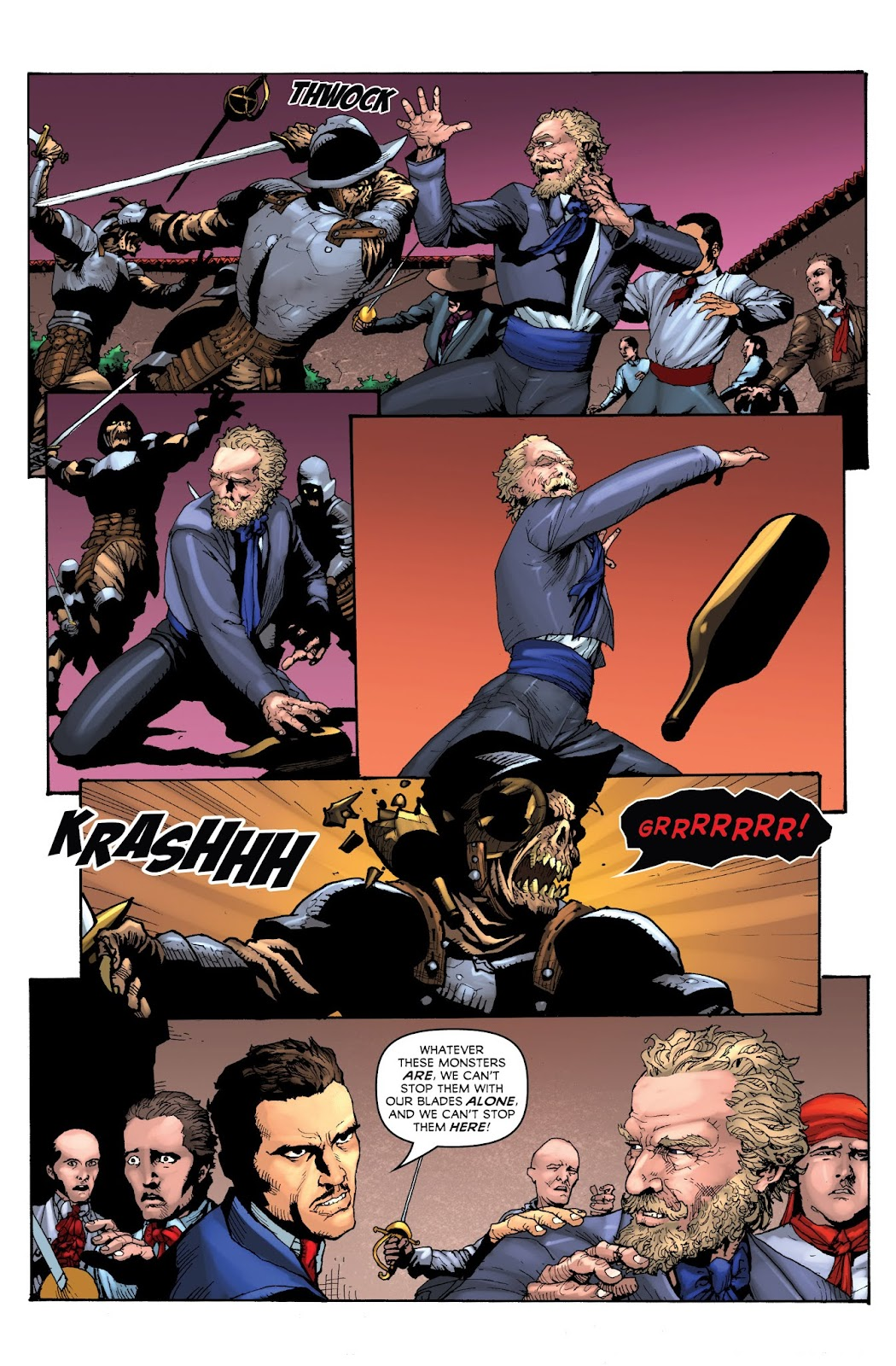 Zorro: Swords of Hell Issue #1 Page 11