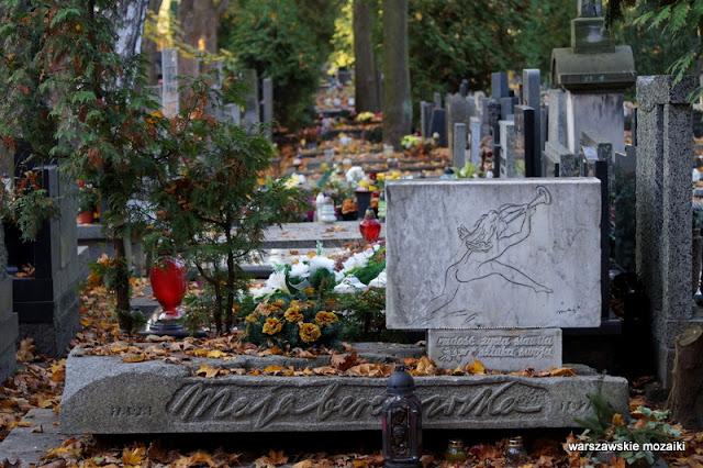maja berezowska Powązki Powązkowska Warszawa Warsaw nekropolia Żoliborz groby żołnierzy wojskowi