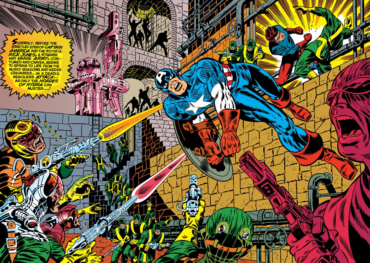 Comic Book Glossary: Splash Page and Spread