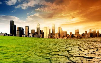 El cambio climático acaba con el planeta tierra