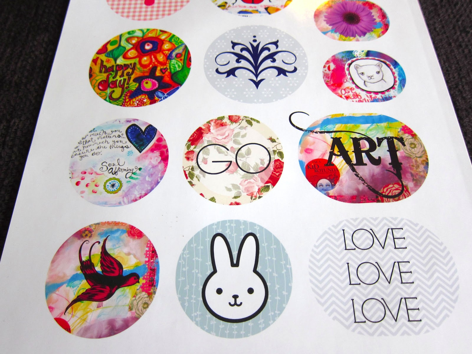 How to print your own stickers using picmonkey marcia beckett