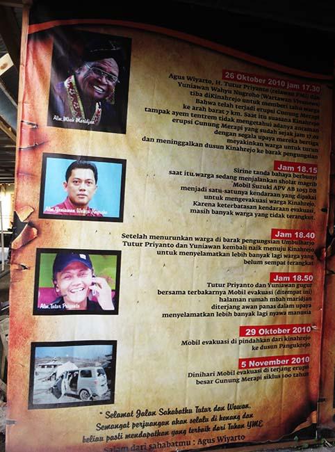 Mbah Maridjan dan Mereka yang Menjadi Korban Erupsi Merapi 2010