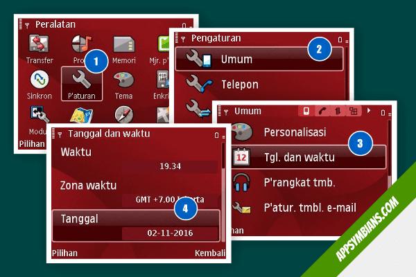 Masaah saat instal whatsapp nokia