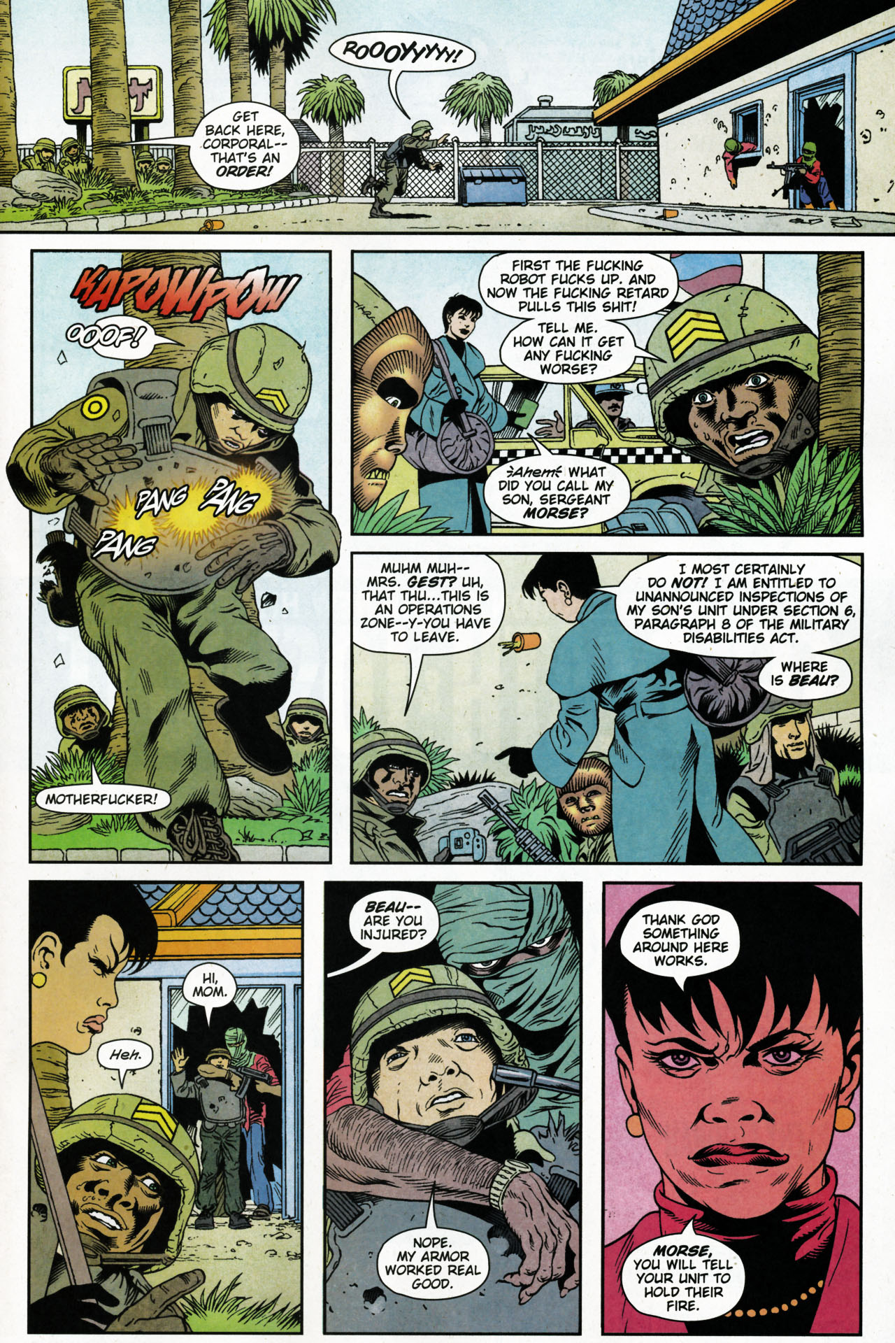 Read online Army @ Love comic -  Issue #4 - 16